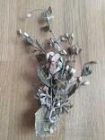 Старинная свадебная пара  цветов., фото №3