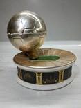 Музыкальная Шкатулка Стадион Футбольный мяч СССР, фото №3