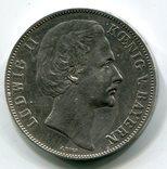Бавария 1 талер 1871 года Победа Германии во Франко-прусской войне, фото №3