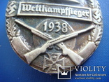 """Нагрудный знак организации"""" Стальной шлем"""" 1938г. КОПИЯ, фото №4"""