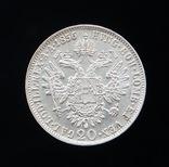 20 Крейцеров 1856 А, Австро-Венгрия UNC