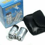 Карманная микроскоп-лупа с 60 кратным увеличением и подсветкой фото 12
