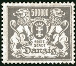 Данциг.The coat of arms of Danzig with lions, фото №2