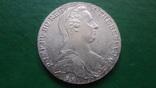 Талер Мария Терезия 1780 серебро (2.5.16)~, фото №4