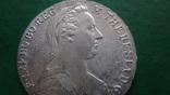 Талер Мария Терезия 1780 серебро (2.5.16)~, фото №5