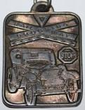 """55.Брелок """"Покровитель водителей-Святой Кристофер"""" 1980-х, фото №5"""