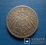 2 марки 1899 Бавария (3,3,9)~, фото №3
