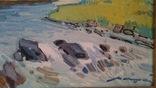 Кашшай «Пейзаж з річкою», фото №11