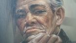 Портрет мужчины 60х77см., подпись автора., фото №7