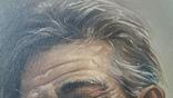 Портрет мужчины 60х77см., подпись автора., фото №8