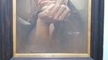 Портрет мужчины 60х77см., подпись автора., фото №13