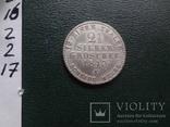 2 1/2 зильбергрошен 1/12 талера 1843  Пруссия серебро (2.2.17)~, фото №4