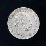 1 Форинт 1881 КВ, Австро-Венгрия фото 2