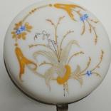 Старинная шкатулка в эмалях, фото №7