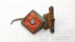 Римская фибула с эмалями, фото №2