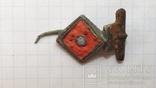 Римская фибула с эмалями, фото №3