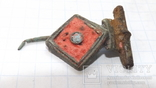 Римская фибула с эмалями, фото №4