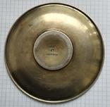 Блюдце периода Царской России, 84 проба, Милюковъ., фото №6