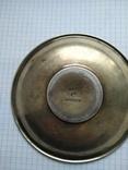 Блюдце периода Царской России, 84 проба, Милюковъ., фото №9