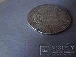 Талер 1718 Патагон  серебро  (Ж.5.13)~, фото №8