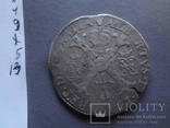 Талер 1718 Патагон  серебро  (Ж.5.13)~, фото №10