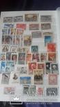 Большой набор негашеных марок СССР 1930-50гг, фото №4