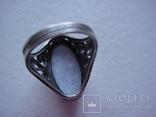 Кольцо и серьги финифть, фото №6