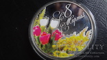 1  доллар 2012  Ниуэ 8  марта  серебро, фото №4