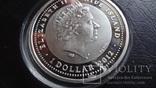 1  доллар 2012  Ниуэ 8  марта  серебро, фото №9