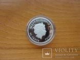 Монета Год свиньи 2019 Серебро 999 пробы 1/2 унции Австралия (цветная), фото №9