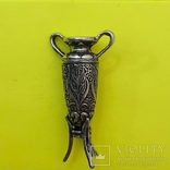Декоративна вазочка Срібна. 18,76 грам., фото №2