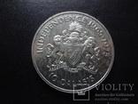 10 даласи 1975 Гамбия  серебро     (О.15.6)~, фото №4