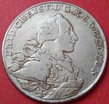 1 талер 1766 год, Бранденбург-Байройт, фото №3