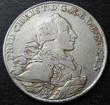 1 талер 1766 год, Бранденбург-Байройт, фото №6
