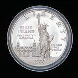 1 Доллар 1986 100 лет Статуе Свободы (Серебро 0.900, 26.73г), США ПРУФ, фото №2