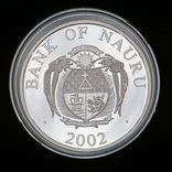 10 Долларов 2004 Бранденбургские Ворота, Науру Унция, фото №3