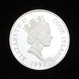 50 Долларов 1992 Бабочка, Острова Кука, фото №3