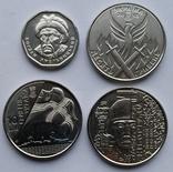 Кіборги, Доброволець, ВМФ, Б.Хмельницький (4 монети з ролів) № 3