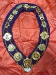 Ошейник Старинного Королевского Ордена Буйволов ложа №6553, фото №3