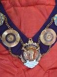 Ошейник Старинного Королевского Ордена Буйволов ложа №6553, фото №4