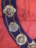 Ошейник Старинного Королевского Ордена Буйволов ложа №6553, фото №5