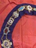 Ошейник Старинного Королевского Ордена Буйволов ложа №6553, фото №6