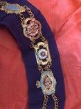 Ошейник Старинного Королевского Ордена Буйволов ложа №6553, фото №8