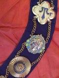 Ошейник Старинного Королевского Ордена Буйволов ложа №6553, фото №9