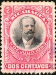 Никарагуа - President Jose Santos Zelaya, фото №2