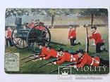 Открытка с маркой Англия 1919г Военная серия №72, фото №2