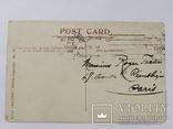 Открытка с маркой Англия 1919г Военная серия №72, фото №3