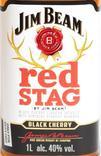 Ликер Jim Beam Red Stag 1L Kentucky, фото №4