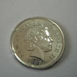 Новая Зеландия 20 пенсов 2008 года., фото №5