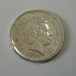 Новая Зеландия 20 пенсов 2008 года., фото №7